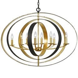 Luna Wide Chandelier