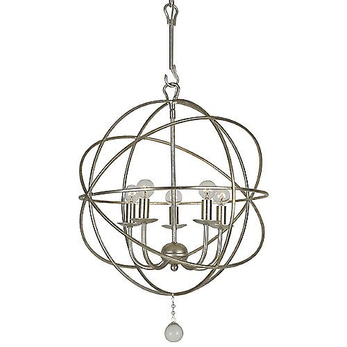 Solaris mini chandelier by crystorama at lumens aloadofball Images