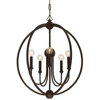Shown in Dark Bronze finish without shade