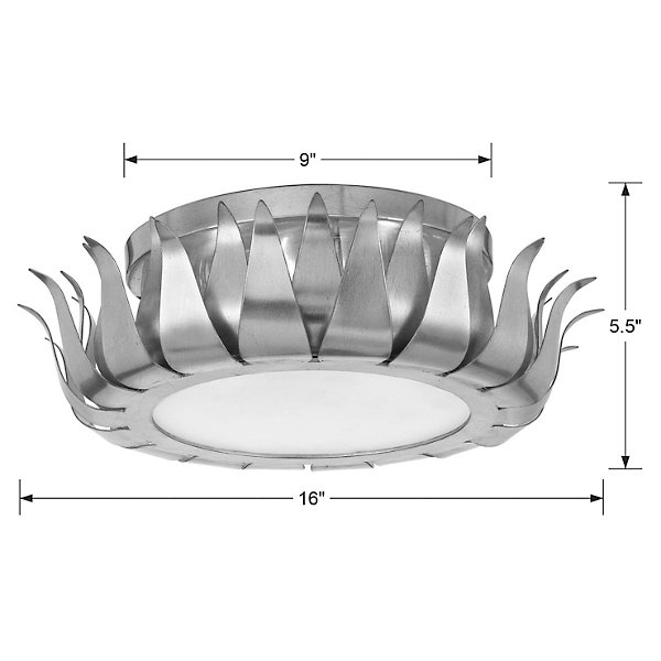 Broche Flushmount