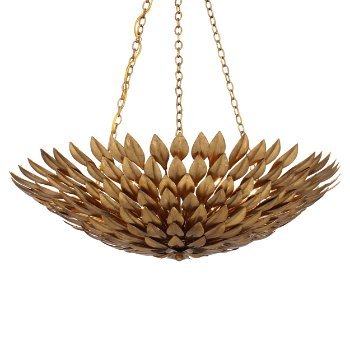Shown in Antique Gold, Small size