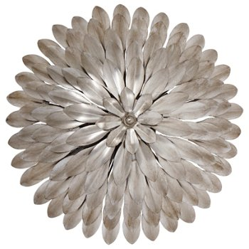 Broche Small Semi Flushmount/Wall Sconce