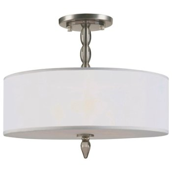 Shown in Satin Nickel finish, Smoke resin shade