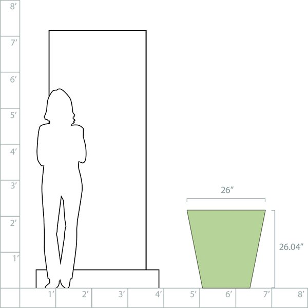 Dot Self-Watering Planter