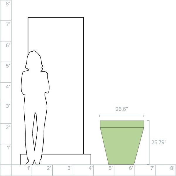 Rim Self-Watering Planter