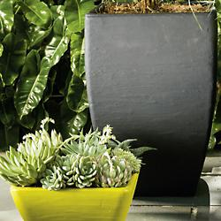 Nomi Low Square Planter (Wasabi) - OPEN BOX RETURN