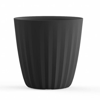 Shown in Caviar Black color, Tall size