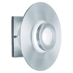 Slide Outdoor Wall/Ceiling Light (Satin Aluminum) - OPEN BOX