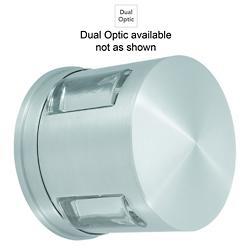 Compass Wall Sconce/Flushmount (Alum/Dual Optic) - OPEN BOX