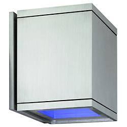 Cube Wall Light (Blue Glass/Blue Glass)-OPEN BOX