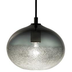 Ellipse Bubble Pendant (Grey/Polished/Black) - OPEN BOX