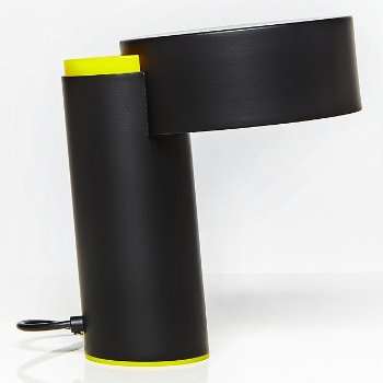 Shown in Yellow with Black finish
