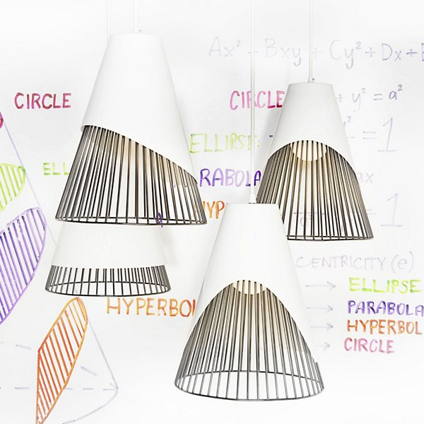 Conic Section Pendant