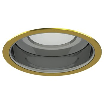Shown in Gold Plated 24K Trim finish with Specular Clear Reflector