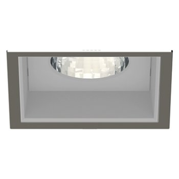 Shown in Brushed Nickel Trim finish with Anodized Reflector
