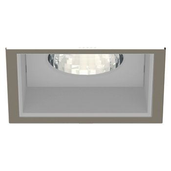 Shown in Satin Nickel Trim finish with Anodized Reflector
