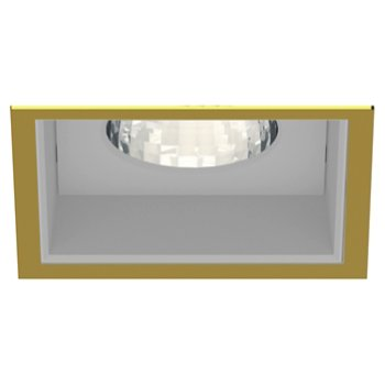 Shown in Gold Plated 24K Trim finish with Anodized Reflector