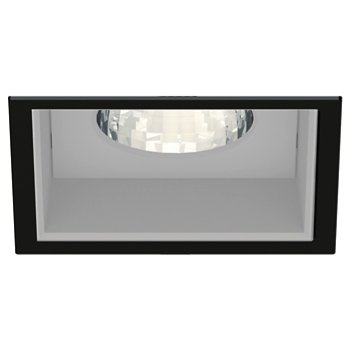 Shown in Matte Black Trim finish with Anodized Reflector