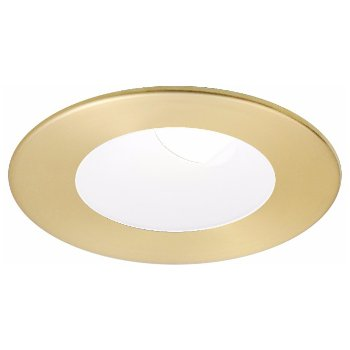 Shown in Satin Gold with Matte White finish