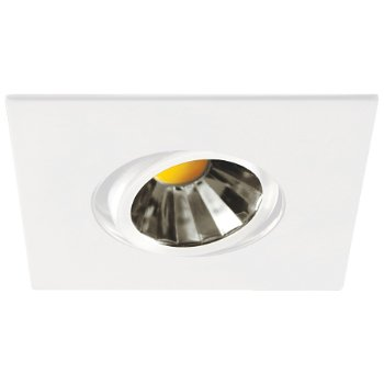 Concerto 3 1/2 inch LED Adjustable Square Trim