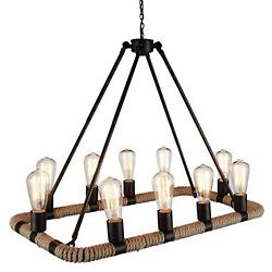 Ganges Rectangular Chandelier