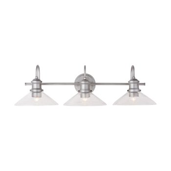 Shown in Brushed Nickel Paint finish, lit