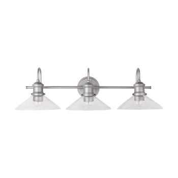 Shown in Brushed Nickel Paint finish, unlit