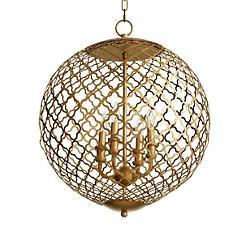 Skyros Globe Pendant