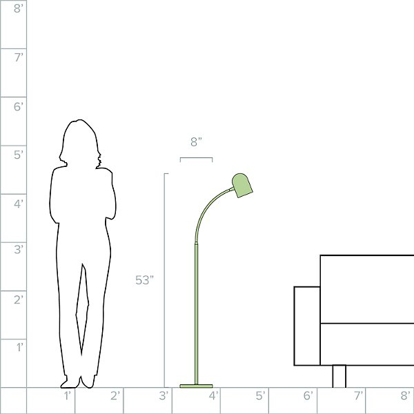 5W LED Floor Lamp