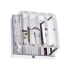 1 Light Crystal Bath Wall Sconce