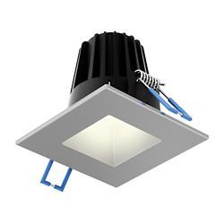 Square Smooth LED Baffle Trim