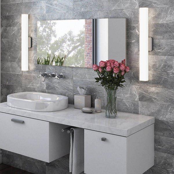 Modern Square LED Bath Bar