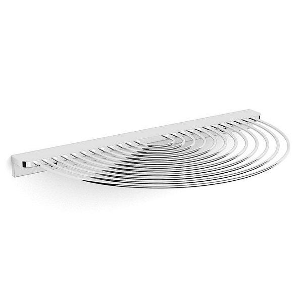 Shower Series SemiCircular Wire Shelf