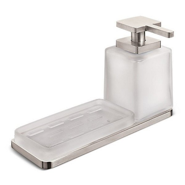 Harmoni Wall Mounted Holder with Soap Dispenser and Soap Dish