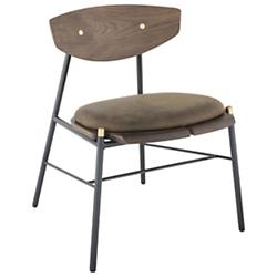 Kink Dining Chair by District Eight (Smoked)-OPEN BOX RETURN