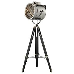 Curzon Floor Lamp (Chrome/Black) - OPEN BOX RETURN