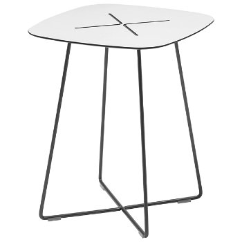 Cross High Side Table