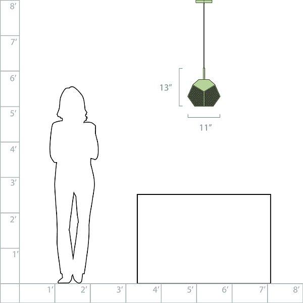 Ula Geometric Pendant