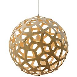 Coral Pendant (Natural Bamboo/31 inch) - OPEN BOX RETURN