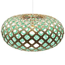 Kina Pendant (Natural and Aqua/17 Inch) - OPEN BOX RETURN