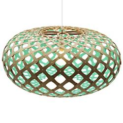 Kina Pendant (Natural and Aqua/24 in/Not Required)-OPEN BOX