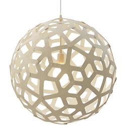 Coral Pendant by David Trubridge(White/39In)-OPEN BOX RETURN