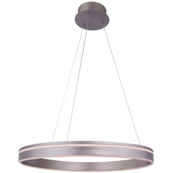 Shown in Satin Nickel finish, 1 Light