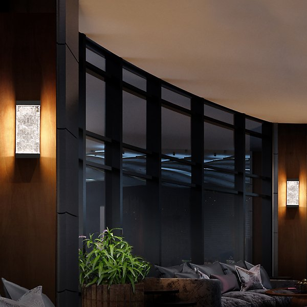 Fusion LED Outdoor Wall Sconce