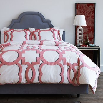 luxembourg duvet cover by dwellstudio at