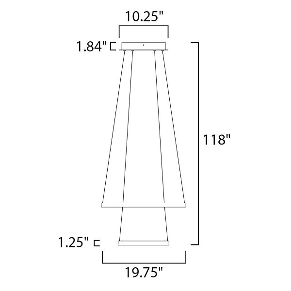 Norma LED Pendant