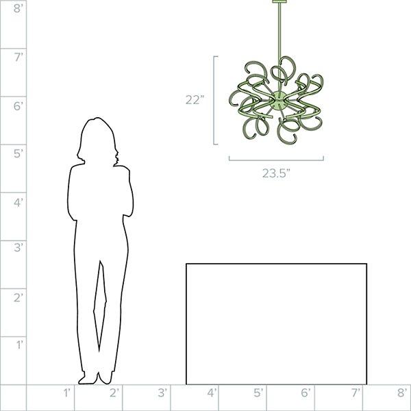 Vivere Foyer LED Pendant