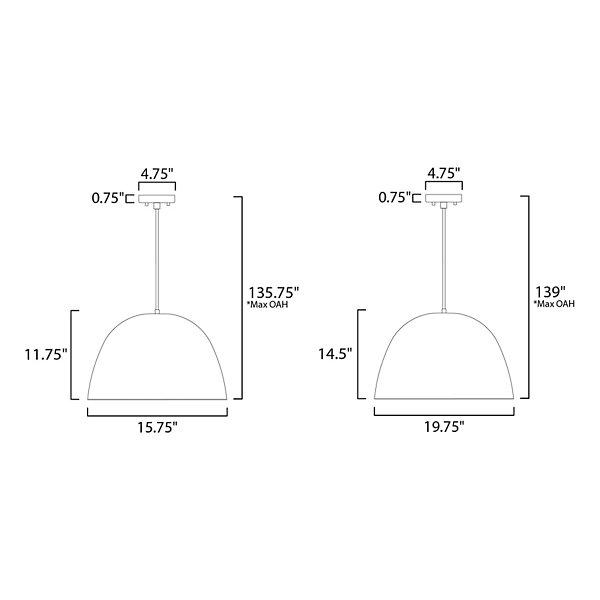 Aldus LED Pendant