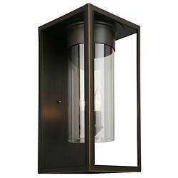 Walker Hill 3-Light Outdoor Wall Sconce (Bronze) - OPEN BOX