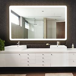 Eyla Radius Lighted Mirror